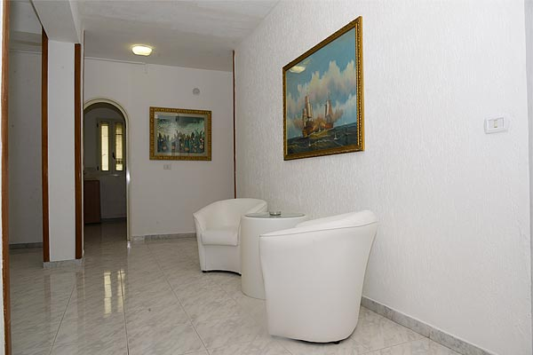 interno dell'hotel morini